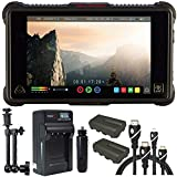 Atomos Ninja Inferno 7'' 4K HDMI Recording Monitor, Battery, Charger, Caltar 7'' Articulating Magic Arm, HDMI A-D Basic 3' Cable and A-C Basic 3' Cable