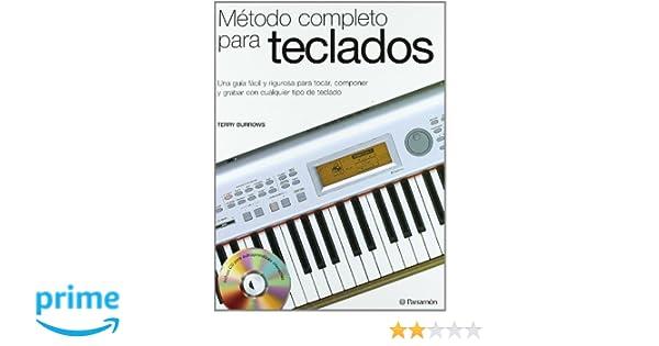 Método Completo Para El Teclado (Música): Amazon.es: Terry Burrows: Libros