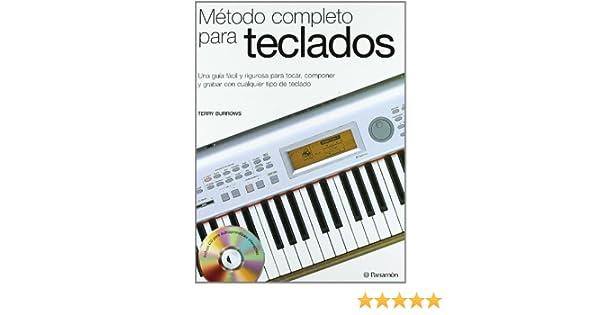 METODO COMPLETO PARA EL TECLADO 1CD (Spanish Edition): Terry Burrows: 9788434227187: Amazon.com: Books