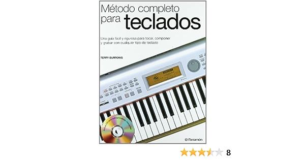 Método completo para teclados 1 tomo + 1 CD Música: Amazon.es ...