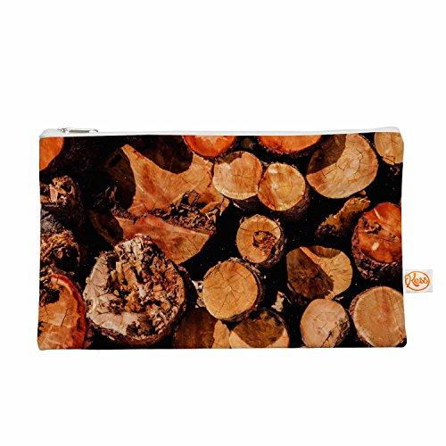 """KESS InHouse Juan Paolo """"The Lumber Yard"""" Brown Orange Ev..."""