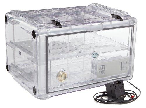 Bel-Art Secador Clear 4.0 Horizontal Auto-Desiccator Cabinet; 120V, 1.9 cu. ft. (F42074-0115)