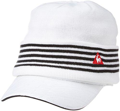 (ルコックスポルティフゴルフ) le coq sportif/GOLF COLLECTION ニットキャップ付きサンバイザー