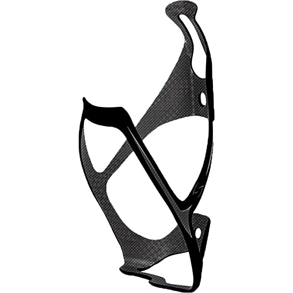 Serfas Vendetta Carbon Bicycle Water Bottle Cage Black CC-600BK