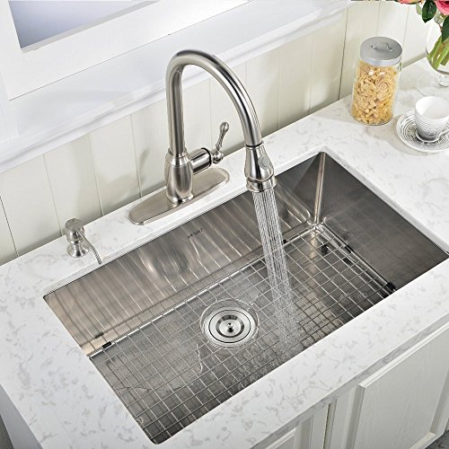 10 inch deep stainless steel kitchen sink vapsint 30 inch 18 10 inch handmade 9679