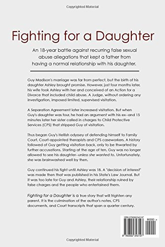 Fighting for a Daughter: A Father's Journal of Battling False Abuse