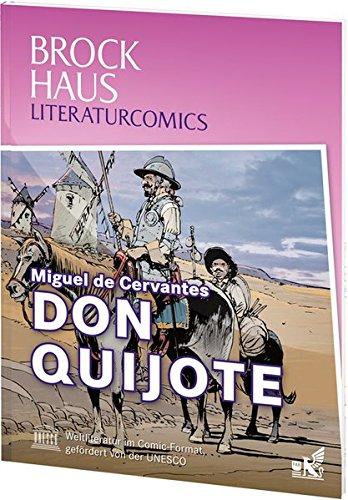 Brockhaus Literaturcomics - Weltliteratur im Comic-Format: Don Quijote