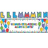 Fancy Me Giant Create Your Own Personalised Banner Party Decoration Birthday Celebration Wedding Engagement Event