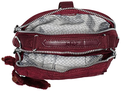 Bag A12 Crimson Top 5 Kipling H x 22x19x11 cm Handle Candy T Womens x Red B 6ZIxqg