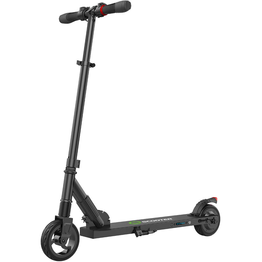 Fast Electric Scooter >> Megawheels Electric Scooter 8 Miles Long Range Battery Up To 14 Mph 5 5 Inch Shock Absorbing Rear Tire Portable And Folding Design