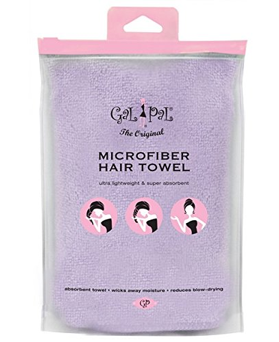 Bath Accessories Gal Pal Microfiber Hair Turban, Lavender
