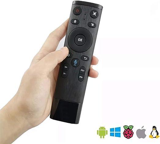 GALEI Control Remoto Universal, TV Bluetooth WiFi de Voz para Android TV Box Decodificador en Red: Amazon.es: Hogar