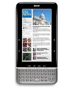 The Sharper Image Literati Wireless Reader, Black