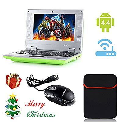 "eForprice 7"" Mini Notebook Laptop Baby Electronic Learning Toys Computer Netbook Android 4.2 System 4GB Storage VIA 8880 Cortex-A9 1.2ghz Wifi Windows Hd Solid Black Mini Laptop 7 Inch Netbook Notebook Computer Tablet Pc, Installed Wifi and Camera, Watch"