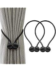 IHClink Magnetische gordijnhouder, gordijnclips, touw, achterwaartse gordijnhouder, gespen, gordijnhouder voor huisdecoratie, 2 stuks
