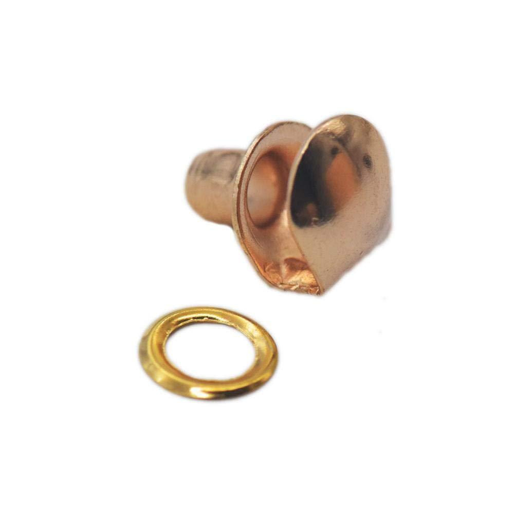 8 mm hanhanlop Metal con Arandelas 50 Ganchos para Botas con Hebilla para Cordones de Zapatos de Senderismo y Escalada