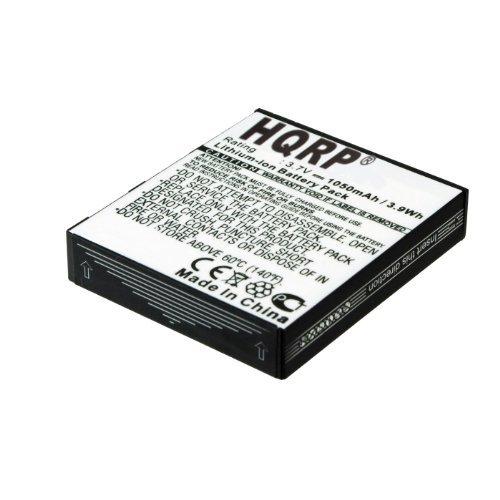 HQRP Battery for GolfBuddy Deca System GB2-BATT-PLU LP-A05-02 LP-A08-05 Size 41 x 36 x 8mm Golf-Buddy + HQRP Coaster by HQRP