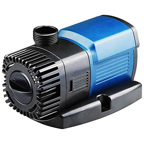 L&WB Fish Tank Oxygen Pump Submersible Pump Silent Variable Frequency Water Pump Filter Pump Anti-Dry Power Saving,9000L/H