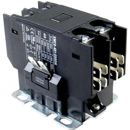 ClimaTek Upgraded Replacement for Weather King 1 Pole 40 Amp Contactor Relay 8401-5536