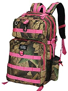 """Mens Large 21"""" Military Style Tactical Gear Molle Hydration Ready Backpack Bags"""