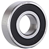 XiKe 4 Pack 6204-2RS Bearings 20x47x14mm, Stable Performance and Cost-Effective, Double Seal and Pre-Lubricated, Deep Groove Ball Bearings.