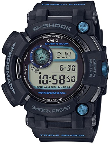 CASIO watch G-SHOCK Frogman world six stations corresponding Solar radio GWF-D1000B-1JF Men's
