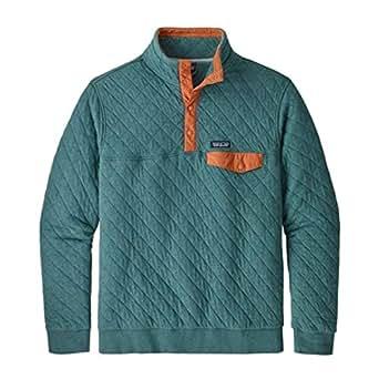 Amazon Com Patagonia Men S Cotton Quilt Snap T Pullover
