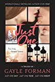 Book cover from Just One...: Includes Just One Day, Just One Year, and Just One Night by Gayle Forman