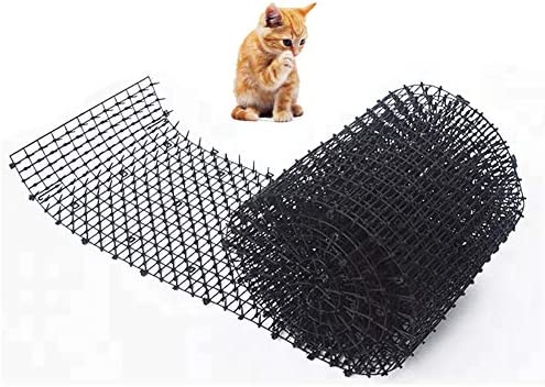 Esterilla para gato, valla de pared para interiores/exteriores, repelente de pinchos para perros y gatos, disuade a las mascotas y la vida silvestre de excavar, protege las plantas en jardines: Amazon.es: Hogar