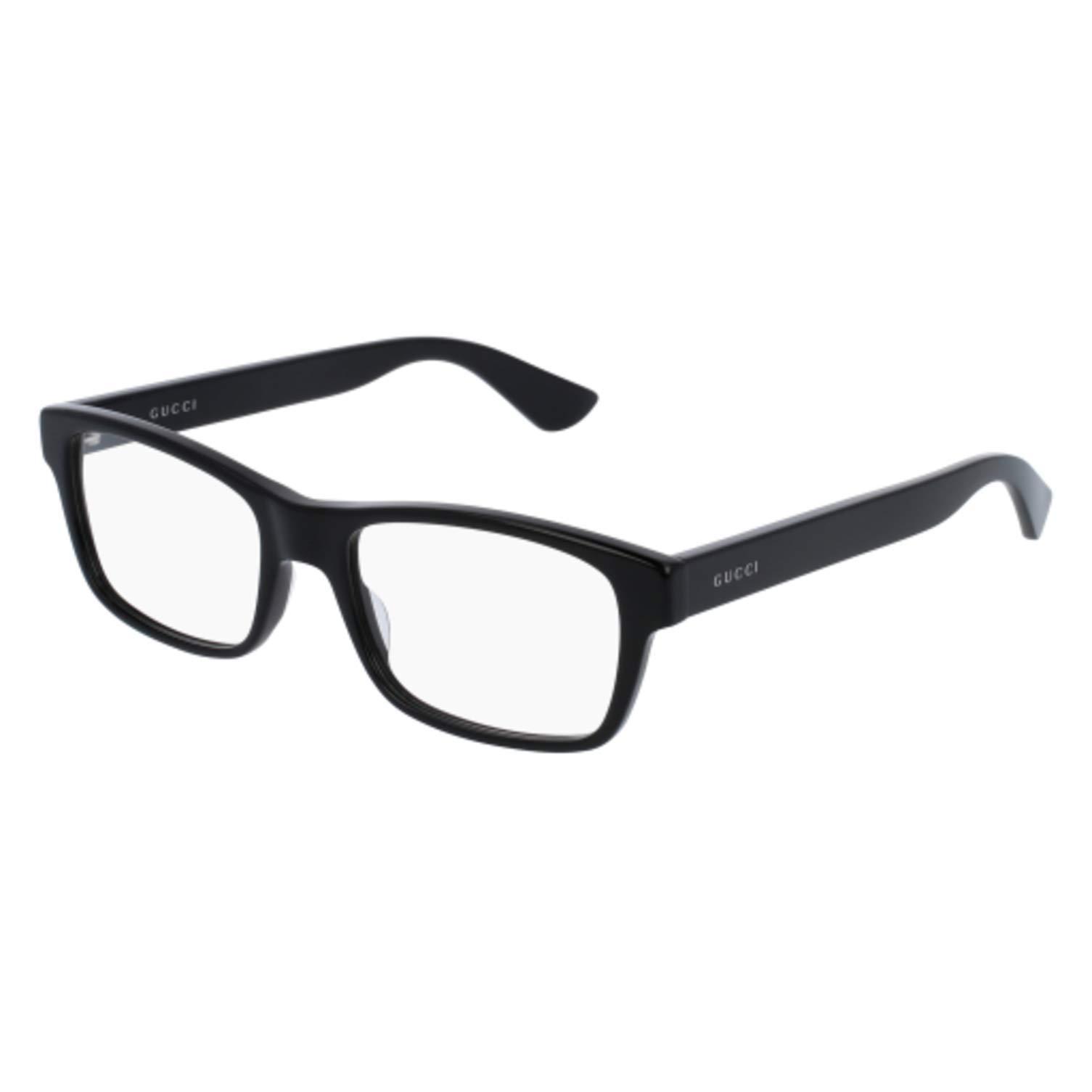 Gucci GG0006O Optical Frame 001 Black Black Transparent 53 mm