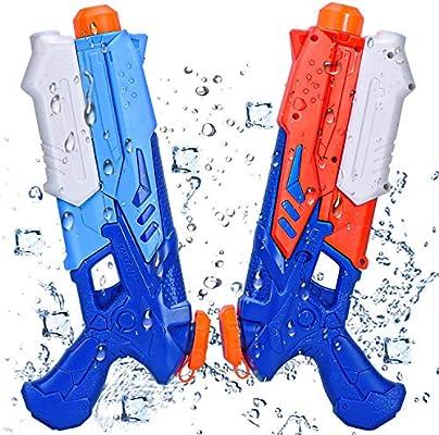 Joyjoz Pistolas de Agua Pistola 2 Pack Blaster de Agua para Verano ...