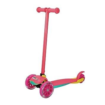 Niños Roller fascol plegable color rosa Kiddy - Patinete (3 ...