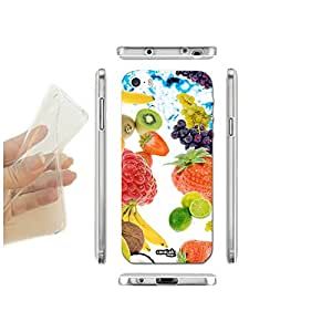 FUNDA CARCASA SLIM FRUTTA LUMINOSA PARA IPHONE 5 5S TPU