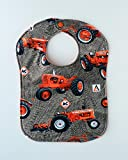 Allis Chalmers Tractors Baby Bib, Reversible