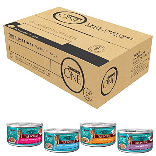 Purina One True Instinct Wet Cat Food Variety Pack -  3 Oz.
