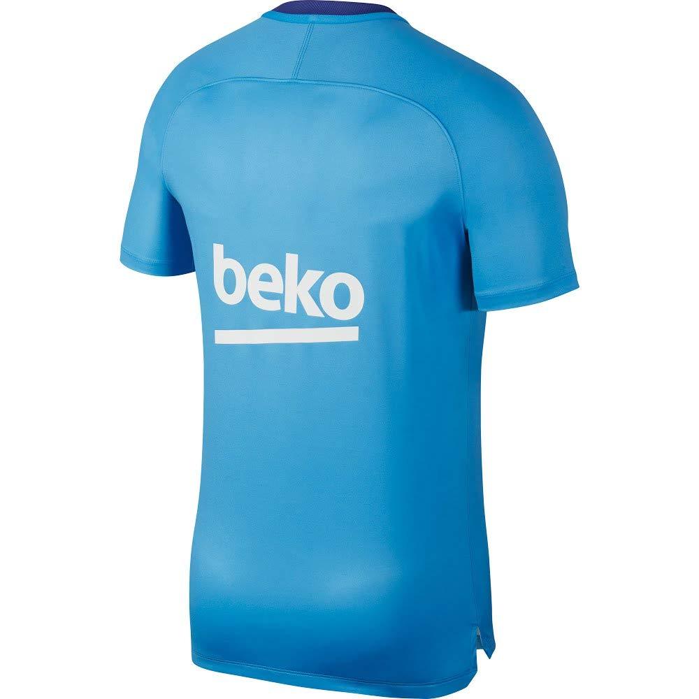 c55afdd14 Nike Men s Fcb M Nk Dry Sqd Top Ss Gx 2 T-Shirt  Amazon.co.uk  Sports    Outdoors