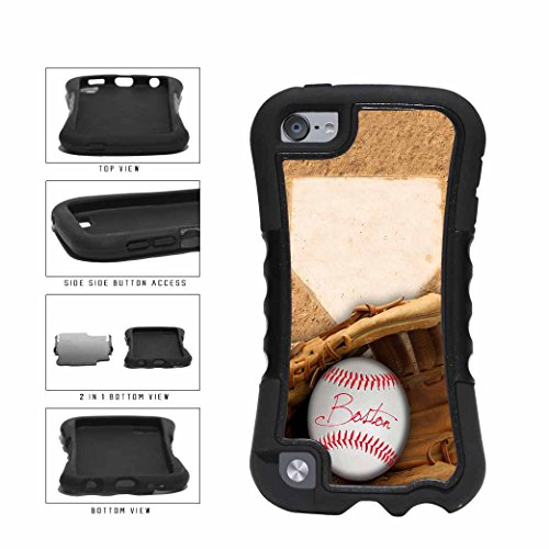 Boston Glove and Baseball 2-Piece Dual Layer Phone Case Back Cover Apple iPod Touch 5th Generation