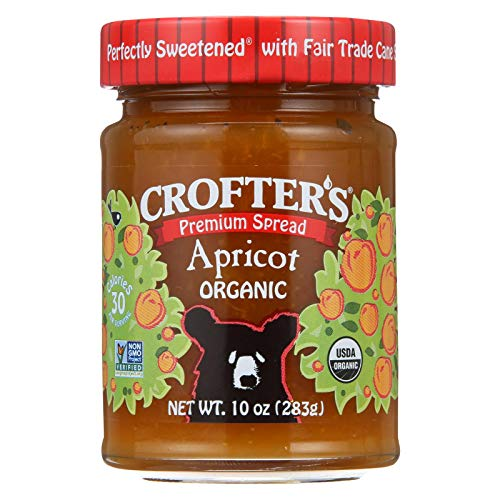 Crofters Food Ltd. Premium Sprd Og Apricot 10-Ounce -Pack of 6 (Organic Apricot Spread)