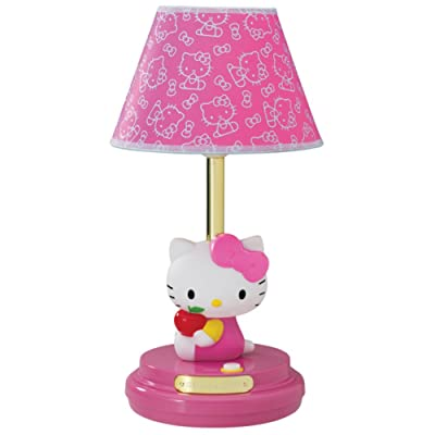 Hello Kitty Table Lamp- Pink Home & Garden: Home & Kitchen