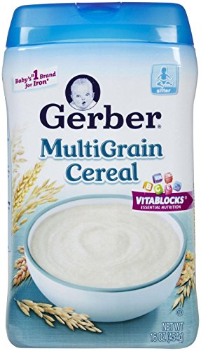 Gerber 1st Foods Baby Cereal - Multigrain - 16 oz - 2 pack