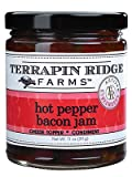 Terrapin Ridge Farms Hot Pepper Bacon Jam 11 OZ (Pack of 1)
