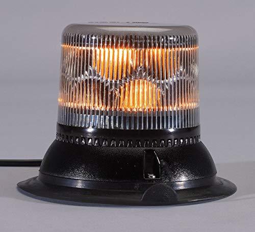 Dual Level Strobe, Amber, Mag/Suction, LED ()