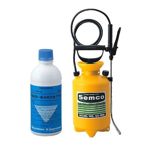 【お得セット】ベルミトール水性乳剤アクア(500ml)医薬部外品+噴霧器GS-006(1台) B009HPBN0K