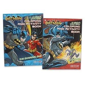 2pc Dc Comics Batman Coloring Book 96pg Each