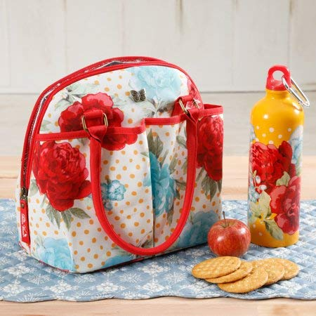 The Pioneer Woman Lunch Tote w/ Hydration Bottle (Blossom Jubilee) ()