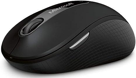 Black Graphite Microsoft Wireless Mobile Mouse 4000