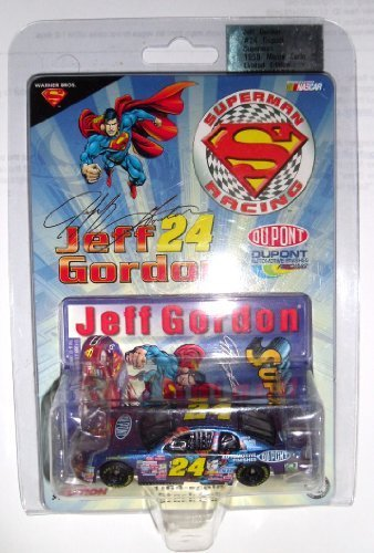 1999 Limited Edition Jeff Gordon #24 Dupont Superman Racing 1/64 Scale Diecast Monte Carlo Action Racing Collectables