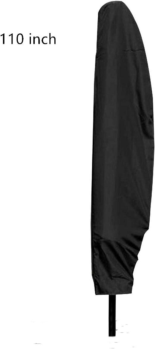 Kuiji Parasol Cover Banana Garden Protector,Garden Brolly Covers Patio Umbrella Cover Protector 110 inch Long
