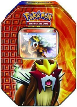 Pokémon Trading Card Game 2010 Holiday Tin - Entei