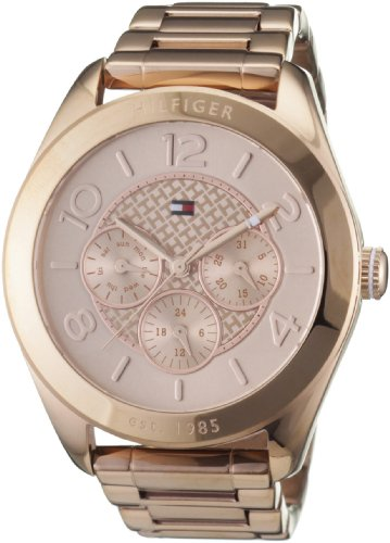 Tommy Hilfiger 1781204 Ladies Rose Gold Gracie Chronograph Watch